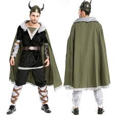 halloween costumes male viking pirates role playing hobbit ox