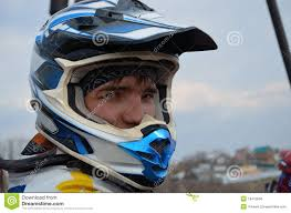 motocross helmets with goggles motocross rider in a helmet royalty free stock image image 19413566