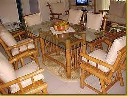 bamboo dining room table beautiful bamboo dining room set pictures new house design 2018
