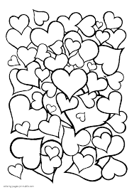 100 printable hearts coloring pages hearts with wings coloring