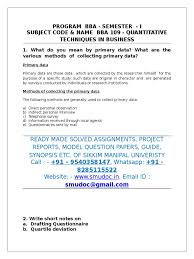 Purpose Of Email In Business by Bba109 Add Survey Methodology Questionnaire
