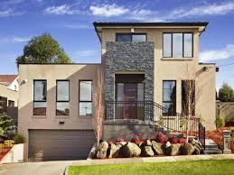 House With Garage Modern Facade Design House With Garage Design In Basement