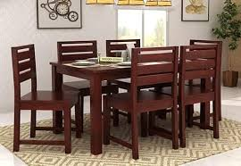 Six Seater Dining Table And Chairs 6 Seater Dining Table Six Seater Dining Table Set India