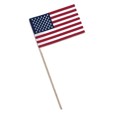 Flags Us American Stick Flags U S Hand Flags 8