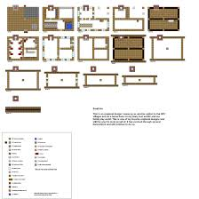 Easy Floor Plans by Minecraft Floorplans Small Inn By Coltcoyote On Deviantart