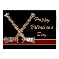 hockey valentines cards hockey gifts on zazzle