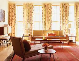 Orange Patterned Curtains How To Pick The Right Window Curtains For Your Home