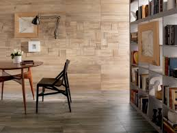 Wooden Interior by Wood Look Tiles