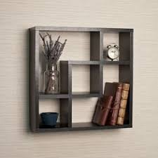 Wall Shelves Decor by Generic Intersecting Squares Wall Shelf Decorative Display