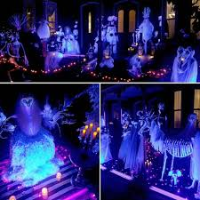 beautiful halloween display in lambertville nj halloween