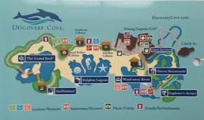 Sea World Orlando Map by Discovery Cove Magical Distractions