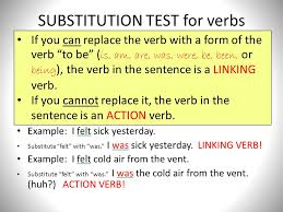verbs time to start underlining the verb is the most important
