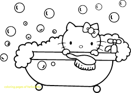 coloring pages of hello kitty with hello kitty coloring pages to