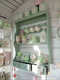 Shabby Chic Decorating Ideas Pinterest by Shabby Chic Kitchen Shelf Shabby Chic Pinterest Kitchen