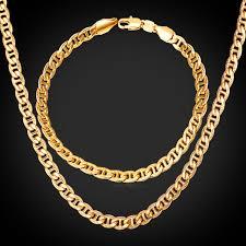 aliexpress buy new arrival men jewelry gold silver men jewelry set trendy fancy style mariner chain bracelet and