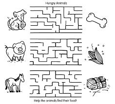 animal maze crayola au