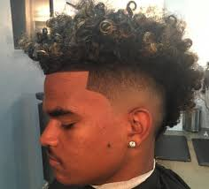nudred hairstyles men taper afro haircut taper fade haircut zay the barber afro ghost