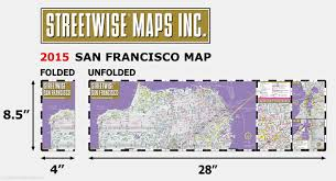 San Francisco Maps by Streetwise San Francisco Map Laminated City Center Street Map Of