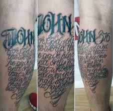 30 john 3 16 tattoo designs for men religious ink ideas