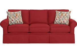 Rooms To Go Sofa Beds Provincetown Poppy Sleeper Sofa Sleeper Sofas Red