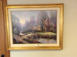 home interiors thomas kinkade prints masters editions thomas kinkade paintings u0026 original art gallery
