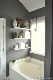 Storage Bathroom Ideas Colors Decorative And Functional Could Add A Couple Hooks To The Bottom
