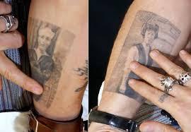 johnny depp u0027s 31 tattoos u0026 their meanings body art guru