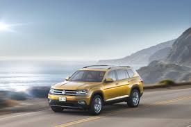2018 Volkswagen Atlas Preview Giant Folk Suv For American Family