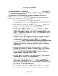 sublease agreement template free download create edit fill and