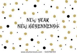 new beginnings greeting cards new year greeting card text black stock vector hd royalty free