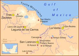 Southern Mexico Map by Olmec Wikipedia