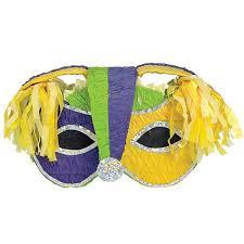 marti gras mask mardi gras mask pinata candywarehouse