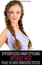 heatless hairstyles for thin hair love the volume this gives me on my thin hair heatless