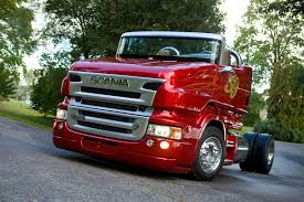 volvo truck design svempa t cab convertible red pearl scania moving around