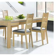 Table Chene Massif Moderne by