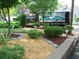 low maintenance another good example of low maintenance landscaping with boulders