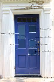 Navy Blue Front Door 8 Paint Colors For A Blue Front Door Blue Door Living
