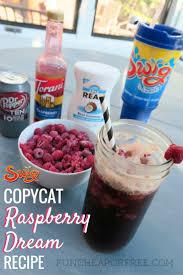 copycat swig raspberry dream recipe my favorite drink fun
