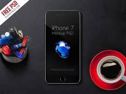 free iphone 7 mockup psd psdfreebies com