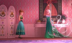 film frozen hd elsa and anna have new dresses in frozen fever