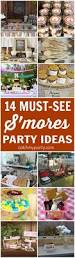 14 must see s u0027mores party ideas catch my party