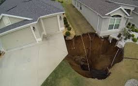 Sinkhole In Backyard Sinkhole Solutions Jacksonville Fl Foundation Professionals Of