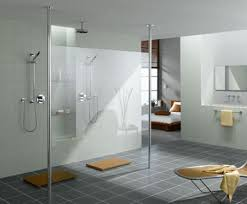 Walk In Shower Designs For Small Bathrooms Modern Walk In Bathrooms Grey Bathroom Shower Designthe Defining