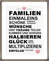 schöne familien sprüche digitaldruck kunstdruck bild spruch familie ein