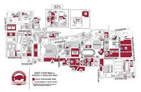 Fayetteville Ar Map Priority Parking Razorback Foundation Inc