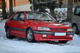peugeot germany a look at the peugeot 405 mi16 ran when parked