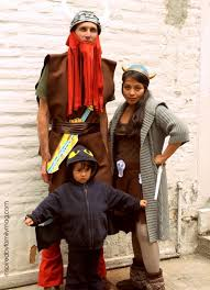 Viking Halloween Costume Minute Diy Family Halloween Costumes