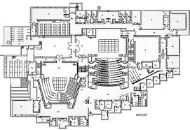 floor plan theater uvic theatre facilities