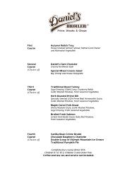 business menu template 28 images 4 designer dining menu and