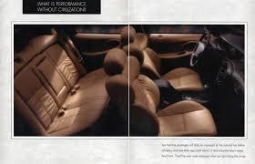 1996 Ford Taurus Interior Auto Brochures